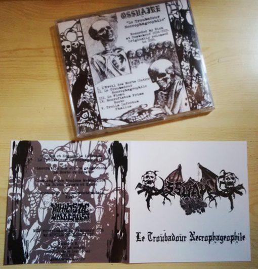 OSSUAIRE - Le Troubardour Necrophageophile