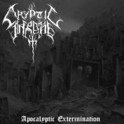 CRYPTIC THRONE - Apocalyptic Extermination