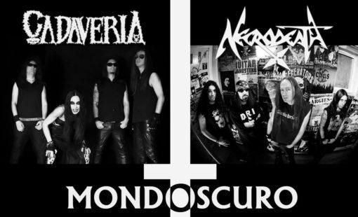 CADAVERIA / NECRODEATH - Split CD