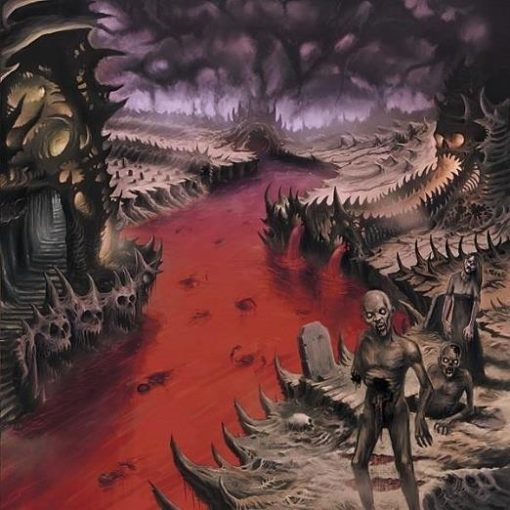 MORT DOUCE - The Valley Of Blood And Death
