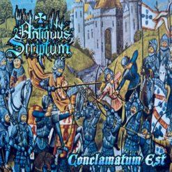 ANTIQUUS SCRIPTUM - Conclamatum Est (digipak)