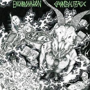 ENCABRONATION / CANNIBAL FEROX - Split CD