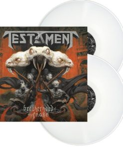 TESTAMENT - Brotherhood Of The Snake (2LP white)