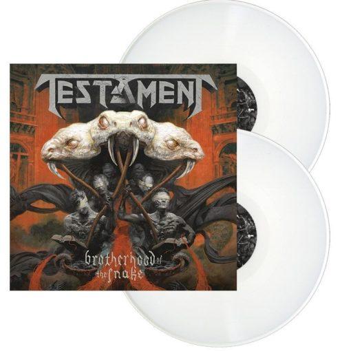 TESTAMENT - Brotherhood Of The Snake (2LP white)