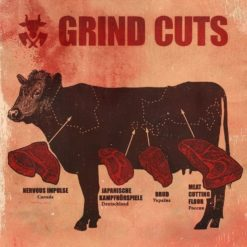 GRIND CUTS - 4 Way grindcore split