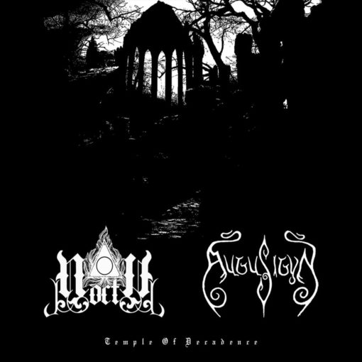NOCTU / AUGU SIGYN – Temple Of Decadence - split CD