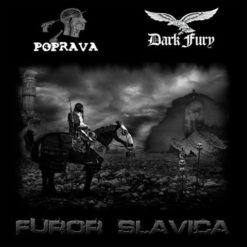 DARK FURY / POPRAVA - Furor Slavica split CD