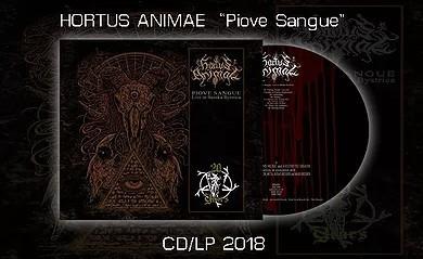 HORTUS ANIMAE - Piove Sangue (LP)