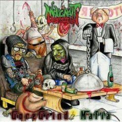 RIPPING ORGANS / MALIGNANT DEFECATION - Split CD