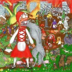 ABORTION / ČAD - Split LP