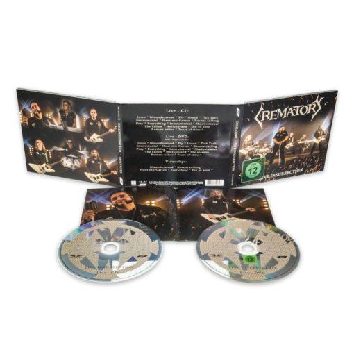 CREMATORY - Live Insurrection (CD+DVD)