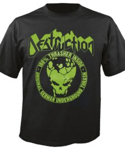 DESTRUCTION - 100% Thrasher Inside