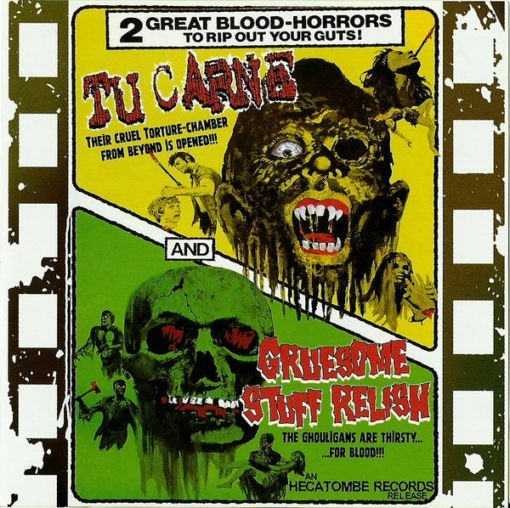 TU CARNE / GRUESOME STUFF RELISH - 2 Great Blood Horrors