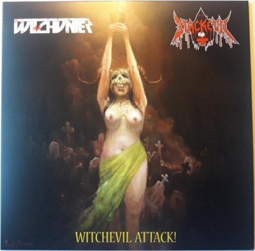 WITCHUNTER / BLACKEVIL - Split LP