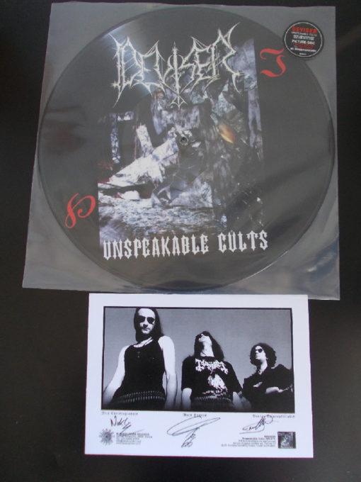 DEVISER - Unspeakable Cults (picture LP)