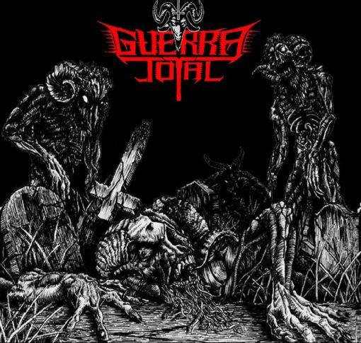 GUERRA TOTAL - Antichristian Zombie Hordes (LP red)